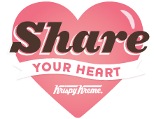 Share Your Heart - Krispy Kreme